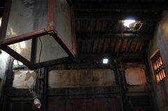 antyczny domowy latarniowy stary Obraz Royalty Free