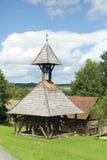 Antyczny drewniany dzwonkowy wierza Fotografia Royalty Free