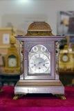 Antyczny drewniany zegar Obrazy Stock