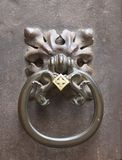 antyczny drzwiowego knocker luksus Obrazy Stock