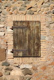 antyczny drzwiowy drewniany Zdjęcie Royalty Free