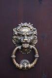 Antyczny drzwiowy knocker Fotografia Stock