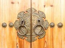 Antyczny drzwiowy knocker Fotografia Royalty Free