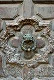 antyczny drzwiowy knocker Obrazy Stock