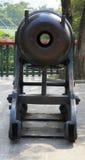 Antyczny działo w Chiński muzealny plenerowym Obrazy Stock