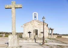 Antyczny ermitaż w Aldea Del Obispo Zdjęcie Stock