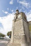 Antyczny farny kościół w Cardeñajimeno, Burgos Obraz Royalty Free