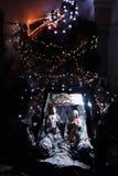 antyczny figurek narodzenia jezusa sceny set Obraz Royalty Free