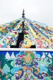 antyczny flaga modlitwy tibetan Obrazy Royalty Free