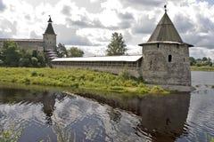antyczny forteca góruje ściany Zdjęcia Stock