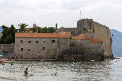 Antyczny forteca St Mary lub cytadela Obraz Stock