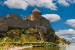 Antyczny forteca w Belgorod Dniester Zdjęcia Royalty Free