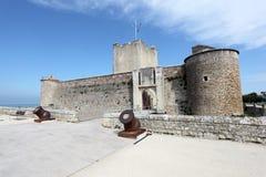 Antyczny forteczny Vauban w Fouras, Francja Zdjęcie Royalty Free
