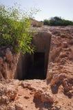 Antyczny grobowiec rujnuje Makronissos. Agia Napa Zdjęcie Royalty Free