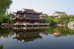 antyczny grodzki zhouzhuang obraz royalty free