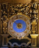 Antyczny horoskopu zegar Obraz Stock