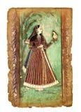 Antyczny Indiański obrazek zdjęcia royalty free