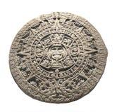 Antyczny kamienny aztec kalendarz Obraz Royalty Free