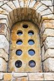 Antyczny kamienny okno Zdjęcie Stock