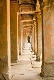 Antyczny kamienny przejście Ta Prohm Świątynny kompleks, Kambodża Obraz Royalty Free