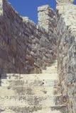 Antyczny kamienny schody Zdjęcia Stock