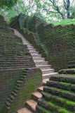 Antyczny kamienny schody w Sigiriya Sri Lanka Obraz Royalty Free