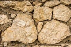 Antyczny kamienny tło stara ściana struktura zdjęcie stock