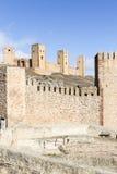 Antyczny kasztel Molina De Aragon Zdjęcie Royalty Free
