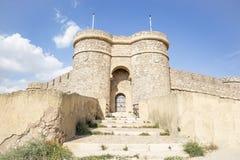Antyczny kasztel w Szynszyli De Monte Aragon Zdjęcie Royalty Free