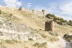 Antyczny kasztel w Szynszyli De Monte Aragon Obrazy Stock
