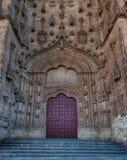 Antyczny Katedralny drzwi obrazy stock