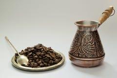 Antyczny kawowy producent obrazy royalty free