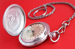 antyczny kieszeniowy zegarek Zdjęcie Stock