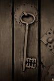 antyczny klucz Fotografia Royalty Free