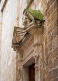 Antyczny kościół ściany detai obrazy stock