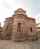 Antyczny kościół chrześcijański w Nessebar w Bułgaria zdjęcie royalty free