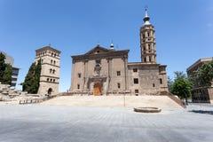 Antyczny kościół w Zaragoza, Hiszpania Zdjęcie Royalty Free