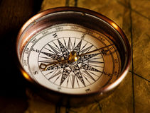 antyczny kompas Obrazy Stock