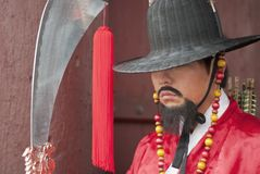 antyczny koreański wojownik Fotografia Stock