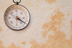 Antyczny magnesowy eksploracja kompas, nawigator zdjęcie stock