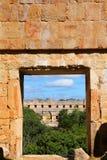 Antyczny majowia miasto Uxmal VII Obraz Royalty Free