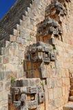 Antyczny majowia miasto Uxmal XXIII Obrazy Royalty Free