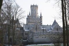 Antyczny Marienburg kasztel blisko Hannover, Niemcy Fotografia Royalty Free