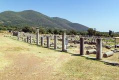 Antyczny Messene, Grecja Fotografia Stock