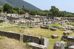Antyczny Messene, Grecja Zdjęcie Royalty Free