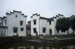 Antyczny miasteczko Longmen Zdjęcia Royalty Free