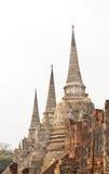 Antyczny miasto Ayutthaya zdjęcia royalty free