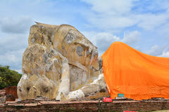 Antyczny miasto Ayutthaya Phra Nakhon Si Ayutthaya Zdjęcia Royalty Free