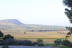 Antyczny miasto Biblijny Kedesh w Izrael obraz stock