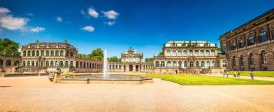 Antyczny miasto Drezdeński, Niemcy Fotografia Royalty Free